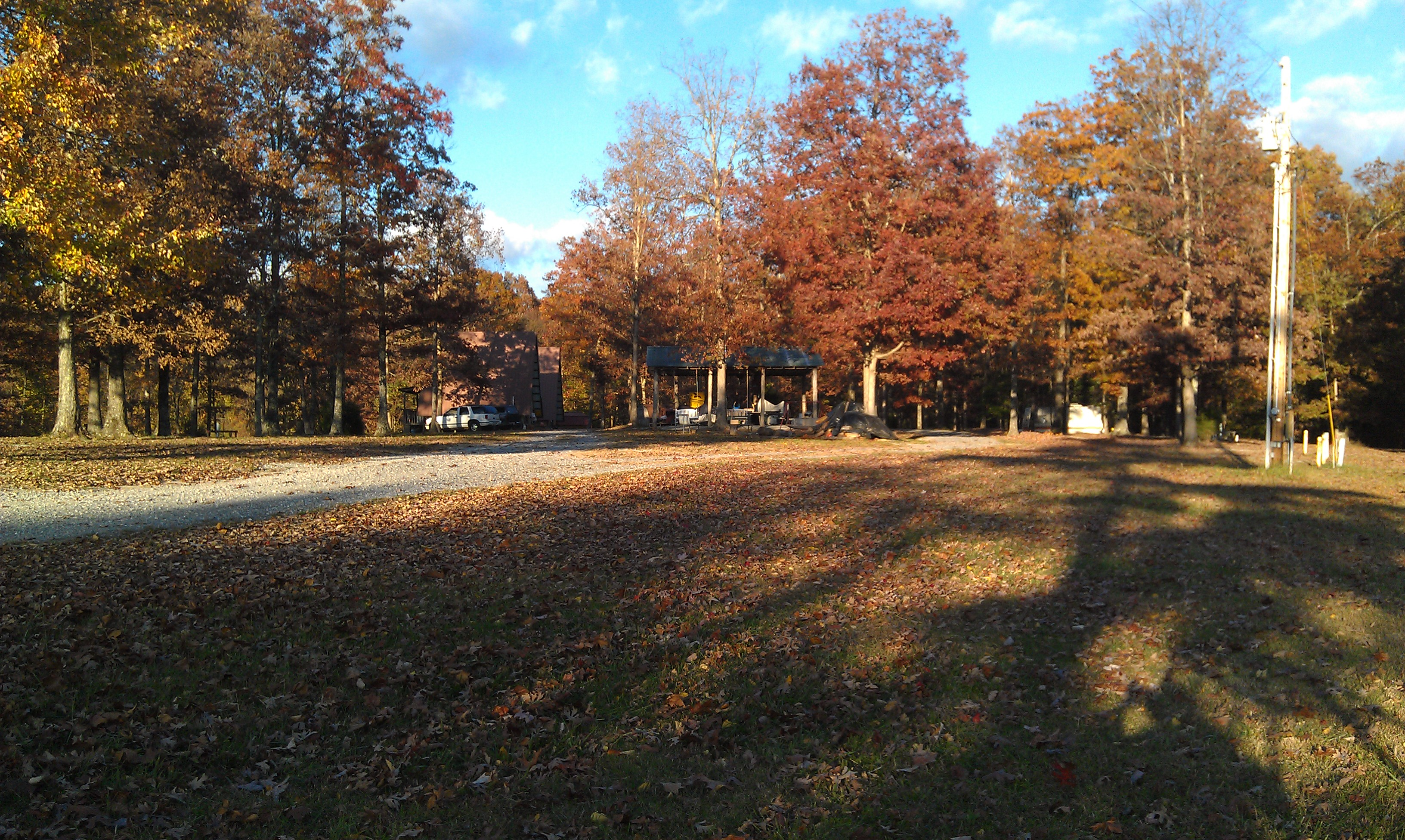 Campground in Autumn